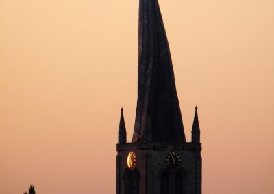 TOWER AND SPIRE