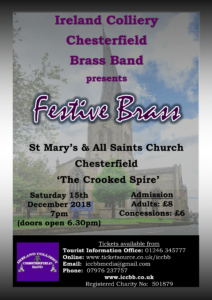 Poster of Fesive Brass concert