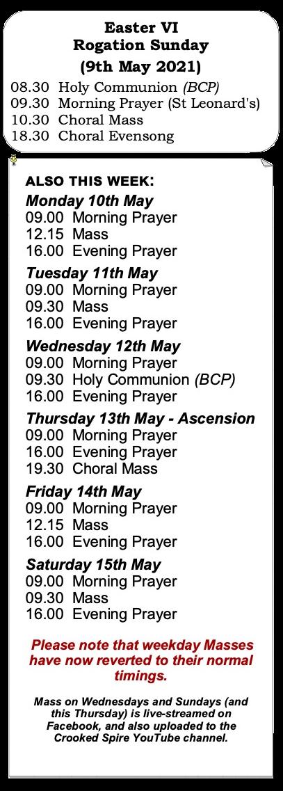 Lent 5 Services